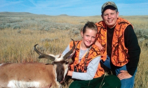 Congressman Steve Daines (R.Montana) after a successful antelope hunt with his daughter Caroline.