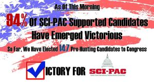 SCI-PAC Victory Graphic